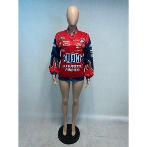 Red Dupont Style Racing Lightweight Jacket